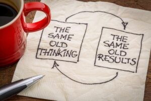 Shift to a new level of thinking